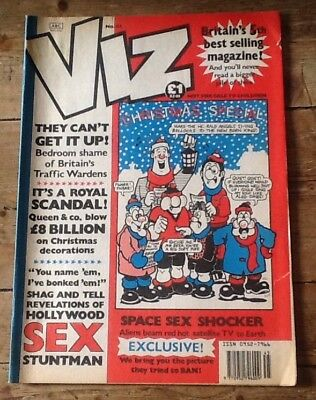 Genuine Vintage Viz Comic No 45 Original Christmas Special