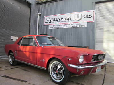 1966 Ford Mustang Coupe C Code 289 Auto Lhd