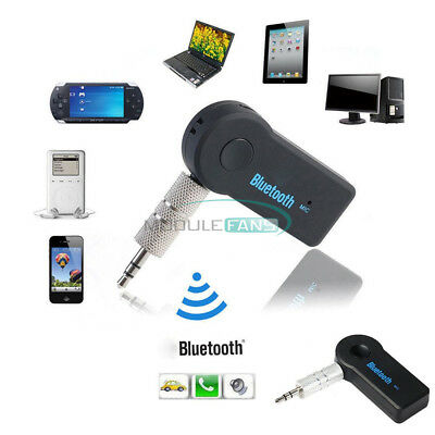 Wireless Bluetooth V3.0 Stereo Audio Music Receiver 3.5mm Handsfree Car AUX