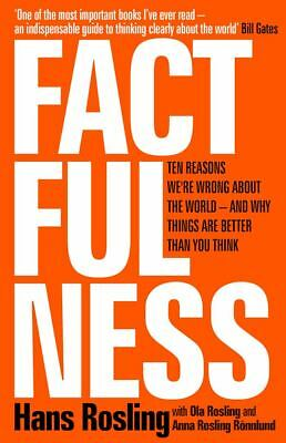 NEW Audio Book Factfulness by Hans Rosling Unabridged 2018