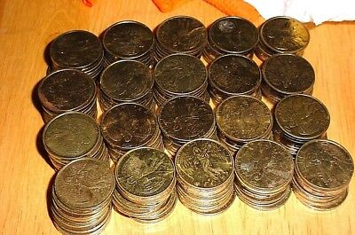 """Lot of 200 Religious  Pocket Guardian Angel 1""""  Protection Coin Tokens"""