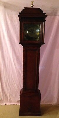 Grandfather Clock Georgian Victorian Antique Long case 8 Day Clock See Delivery