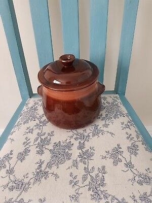 Vintage Farmhouse Cooking Pot With Lid