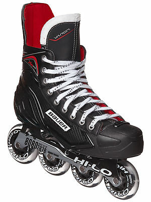 New Bauer RH XR300 Inline Roller Hockey Skates Junior & Senior Size Regular Fit