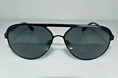 Emporio Armani Aviator Matte Black EA2004 3022/87 59mm Sunglasses