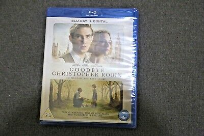 Blu-Ray Goodbye Christopher Robin            Brand New Sealed Genuine Uk Stock