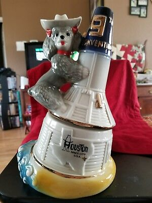 JIM BEAM Decanter Ninth 9th Convention Texas Space City 100 Months 1979