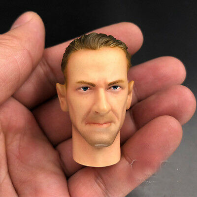 1:6 Scale Man DML Head Carving Sculpt For 12''  Male Action Figure Body