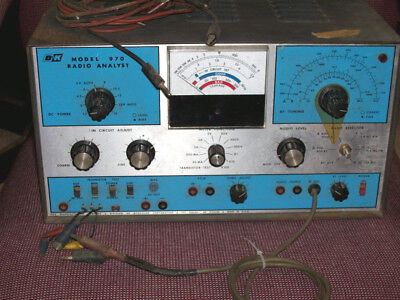 Vintage B&k Radio Analyst Model 970 , Not Tested . Parts Only.