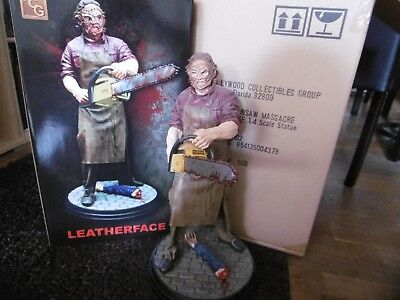 Leatherface 1:4 Statue Texas Chainsaw Massacre Hollywood Collectibles Sideshow
