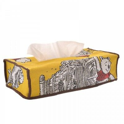 Disney Store Japan Tissue Box Cover Winnie the Pooh & Friends Christopher Robin