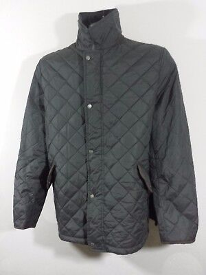 Authentic DUCHAMP London Outwear Quilted Padded Jacket Black Mens XXL/XL