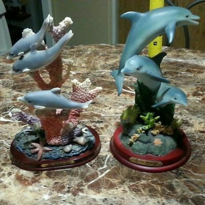"""Vintage Dolphin 7 1/2"""" Statue Collection"""