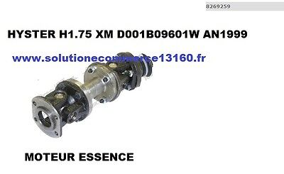 HYSTER H1.75 XM D001B09601W Essence 1999 GIMBALS CROSSPIECE TRAINING PUMP
