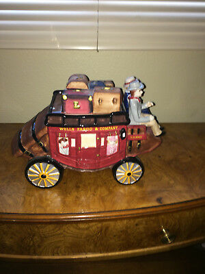 Wells Fargo & Company Stagecoach Cookie Jar