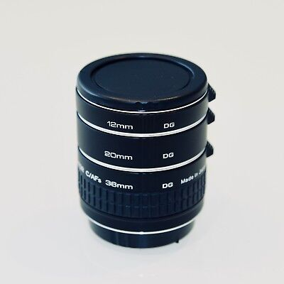 Kenko Teleplus DG Extension Tubes Canon EOS - Used Twice - Immaculate Condition