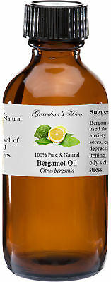 Bergamot Essential Oil 2 oz - 100% Pure and Natural - Free Shipping - US Seller