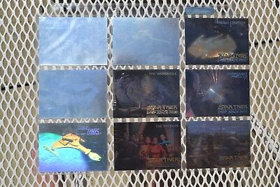 STAR TREK Deep Space Nine Spectra Cards SP1-SP5 & Next Generation & D1H-D4H