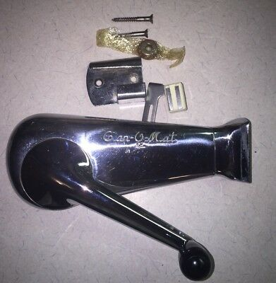 RIVAL Vintage CAN-O-MAT Can Opener Cat. No 145 series  with WALL MOUNT