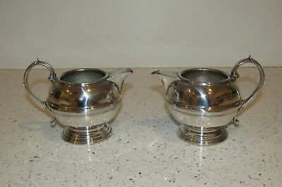 Antique Old Sheffield SILVER PLATE? Small Water Milk Pots Tea Pots Teapot