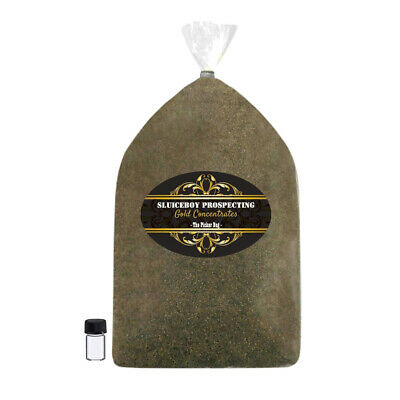 Gold Paydirt - 2.5 lb Bag Gold Dredge Concentrates - Gift Idea - Gold Panning