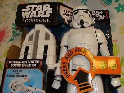 2016 Disney Hasbro Star Wars Rogue One Imperial Interatech Storm Trooper