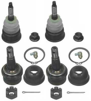 New Front Pair Upper & Lower Ball Joints for Ford, Mercury