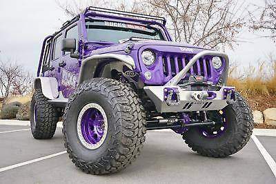 Wrangler Rubicon 2017 Jeep Wrangler Unlimited Rubicon 5,500 Miles Xtreme Purple Pearlcoat Convert