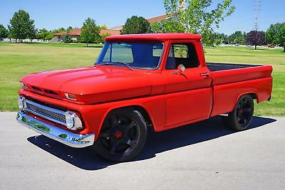 C-10 -- 1965 Chevrolet C10  209 Miles Red Pickup Truck  Automatic