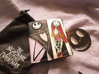 Multi-fold Nightmare before Christmas wallet NEW Jack Sally NBC