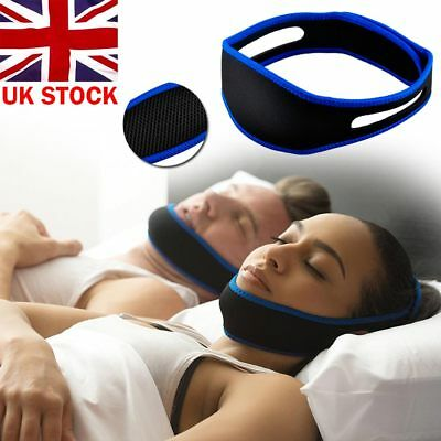 Anti snore stop Chin strap Comfortable Adjustable Soft Jaw Relief Device Support