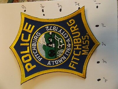 Fitchburg Massachusetts Police Patch