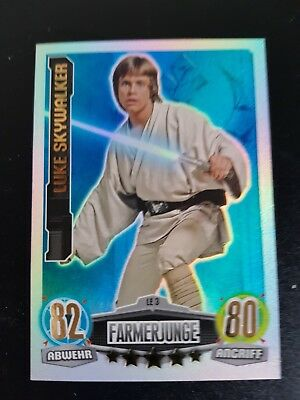 Force attax LE 3 Luke Skywalker Limitierte Auflage Movie Serie 1