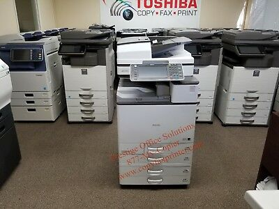 Ricoh Aficio MP C4503 Color Copier. Low Meter