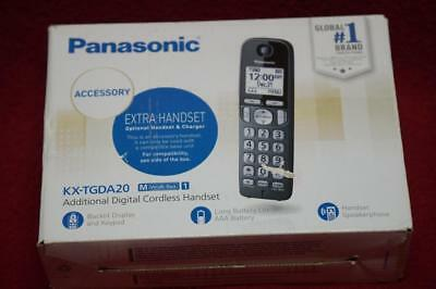 Panasonic KX-TGDA20 DECT 6.0 Plus Extra Cordless Phone Handset - Black NEW