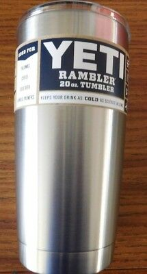 YETI Rambler 20 oz Stainless Steel Vacuum Insulated Tumbler with Magslider Lid