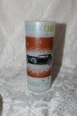 Vintage - 1931 Duesenberg J Club Victoria - Classic Car frosted drinking glass
