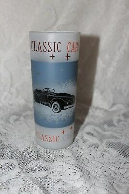 Vintage -1935 Auburn Speedster Model 851 - Classic Car frosted Drinking Glass