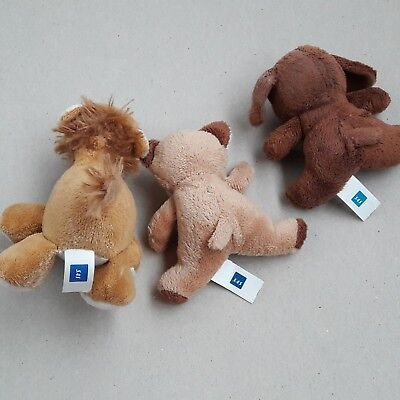SAS toys Plush kids Dog Cat Lion - Scandinavian Airlines Stuffed animals lot