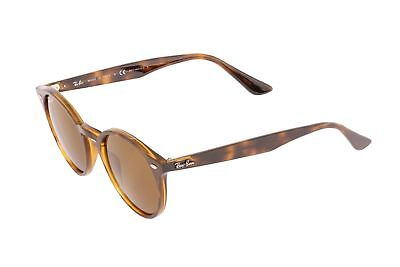 a313992f2c3 NEW Ray Ban Highstreet RB2180 710 83 49mm Dark Havana Frame Brown Lens  Polarized