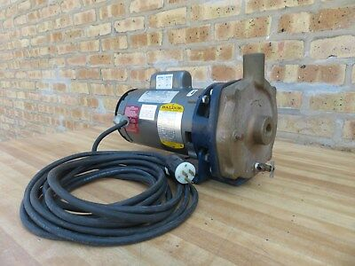 Price 1/2 HP Water Circulator Bronze Pump Baldor Motor 115 / 230 V Single Phase