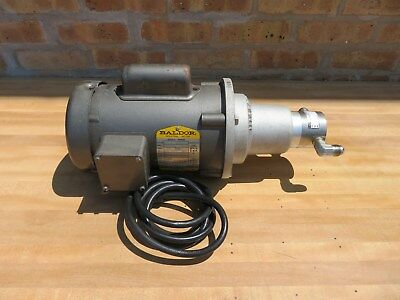 Micropump 1/2 HP Water Circulator Pump Baldor Motor 115 / 230 V Single Phase