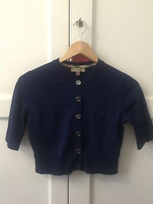 Burberry Cropped Cardigan