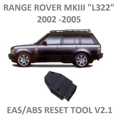 RANGE ROVER L322 EAS ABS RESET tool  Air Suspension kicker fault