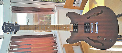 Ibanez AS53 Electric Guitar Tobacco Flat Colour Excellent Condition (Left Hand)