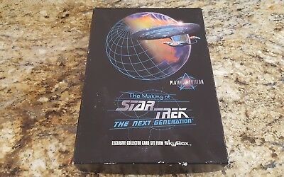 Star Trek The Next Generation The Making Of By Skybox Platinum 7607/50,000