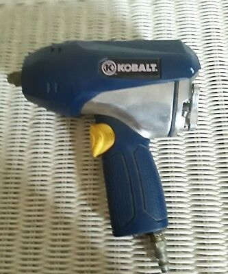 "Kobalt 1/2"" Drive Heavy Duty Air Impact Wrench tested works"