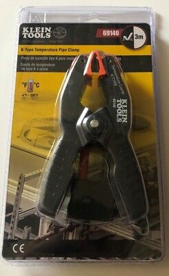 Klein Tools 69140 K-Type Temperature Pipe Clamp