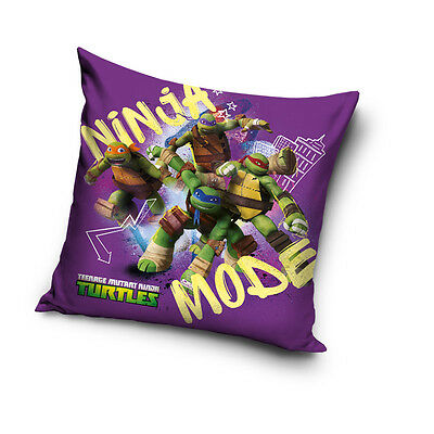 NEW Teenage Mutant NINJA TURTLES 05 cushion cover 40x40cm pillow cover