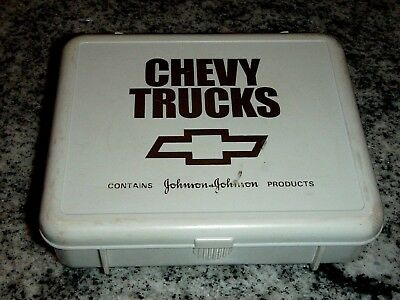 Chevy Trucks First Aid Kit, Johnson & Johnson, Chevrolet Auto Safety Kit,